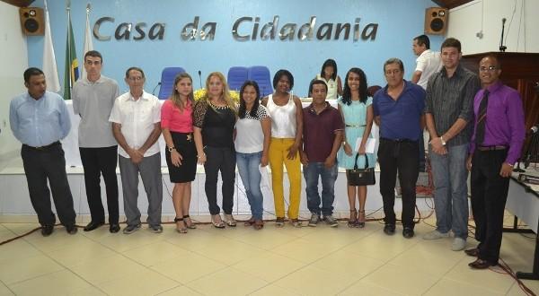 Empossados candidatos aprovados em Concurso Público do Poder Legislativo Municipal.