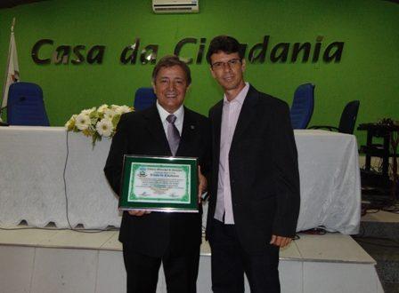 Carlos Pimenta e o Vereador Aranha