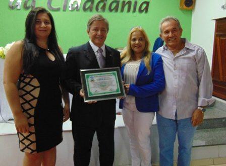 Carlos Pimente, Nininha , Elienis e Dr. Rubem