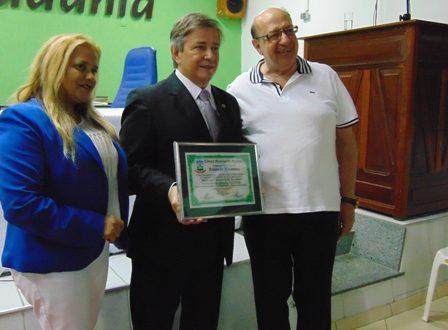 Carlos Pimente, Nininha e Salim Amaro
