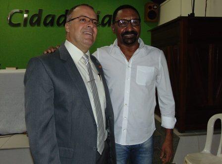 Delegado João Carlos e Kaburé