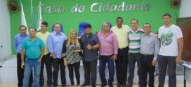 Vereadores do Município de Três Corações visitam a Câmara Municipal de Nanuque